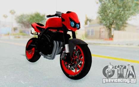 Kawasaki Ninja 250R Streetrace Naked для GTA San Andreas