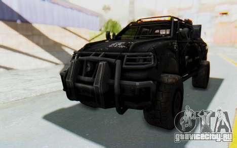Toyota Hilux Technical Vindicator SecFor для GTA San Andreas