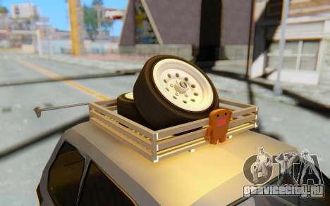 Fiat 126 для GTA San Andreas вид изнутри