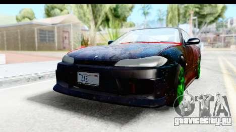 Nissan Silvia S15 Galaxy Drift v2.1 для GTA San Andreas вид сзади