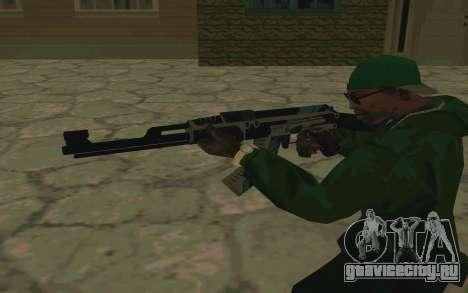AK-47 Vulcan (SA) для GTA San Andreas пятый скриншот