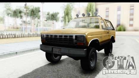 Ford Bronco 1980 IVF для GTA San Andreas