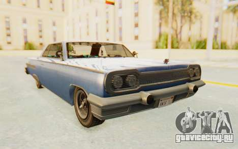 GTA 5 Declasse Voodoo Alternative v1 для GTA San Andreas вид сзади слева