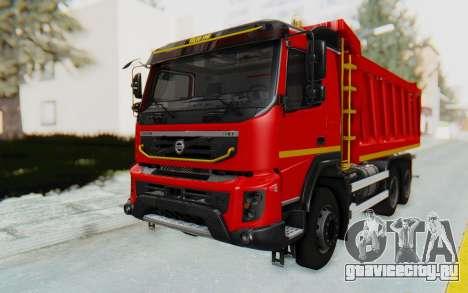 Volvo FMX 6x4 Dumper v1.0 для GTA San Andreas вид справа