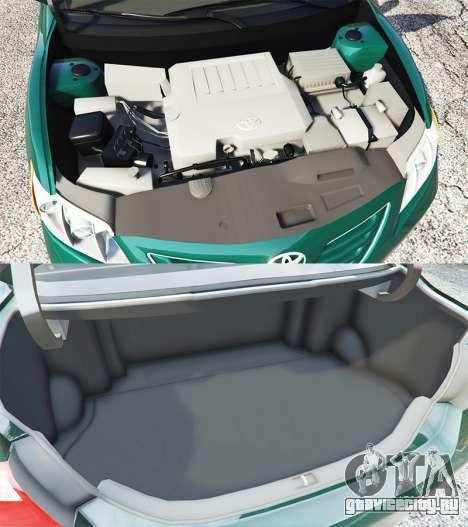 Toyota Camry V40 2008 [stock] для GTA 5 вид справа