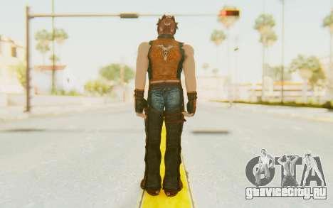 Hwoarang Skin для GTA San Andreas третий скриншот