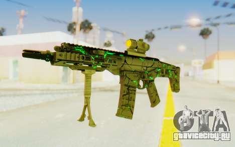 ACR CQB Magma Green для GTA San Andreas второй скриншот