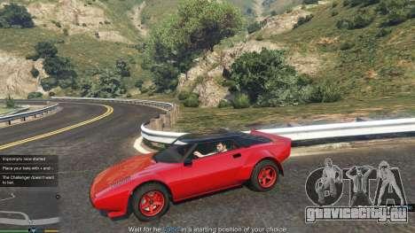 Impromptu Races 1.8 для GTA 5 второй скриншот