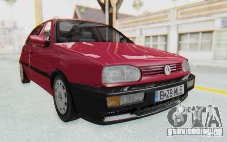 Volkswagen Golf 3 1994 для GTA San Andreas вид справа