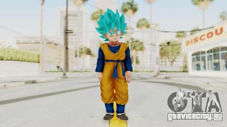 Dragon Ball Xenoverse Goten SSGSS для GTA San Andreas второй скриншот