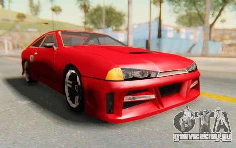 Elegy GT v1 для GTA San Andreas вид сзади
