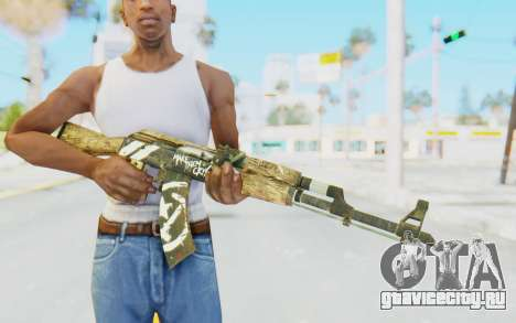 CS:GO - AK-47 Wasteland Rebel для GTA San Andreas третий скриншот