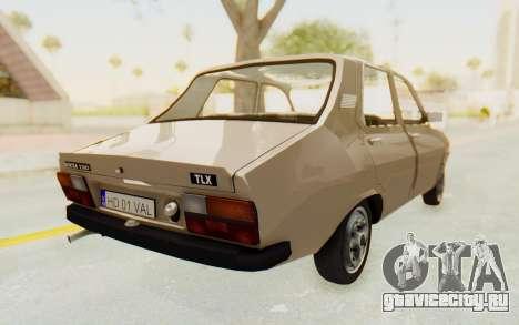 Dacia 1310 TLX для GTA San Andreas вид сзади слева