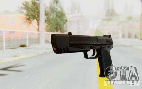 HK USP 45 Black для GTA San Andreas второй скриншот