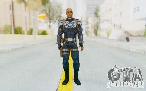 Marvel Future Fight - Nick Fury для GTA San Andreas второй скриншот