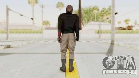 MGSV Phantom Pain Venom Snake Leather Jacket для GTA San Andreas третий скриншот