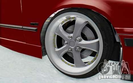 BMW M3 E36 2.5 TDS для GTA San Andreas вид изнутри