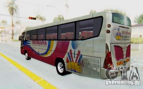 Marcopolo Inforana Bus для GTA San Andreas вид слева