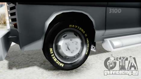GMC 3100 Diesel для GTA San Andreas вид сзади