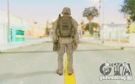 CoD MW2 Ghost Model v3 для GTA San Andreas третий скриншот