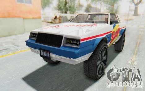 GTA 5 Willard Faction Custom Donk v1 IVF для GTA San Andreas вид снизу