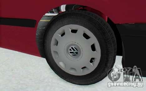Volkswagen Golf 3 1994 для GTA San Andreas вид сзади