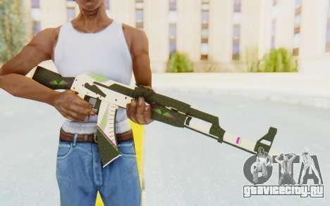 CS:GO - AK-47 Sport для GTA San Andreas третий скриншот