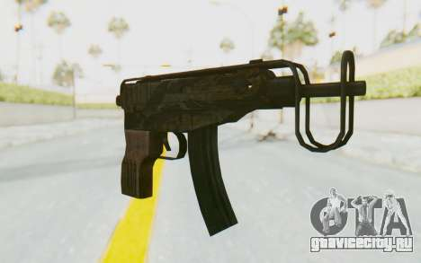 VZ-61 Skorpion Fold Stock Tiger Stripes Camo для GTA San Andreas