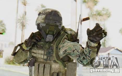 CoD AW US Marine Assault v1 Head A для GTA San Andreas