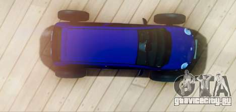 Daewoo Matiz R20 Vossen для GTA San Andreas вид справа
