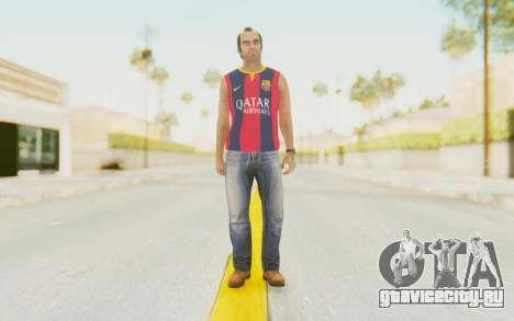 Trevor Barcelona для GTA San Andreas второй скриншот