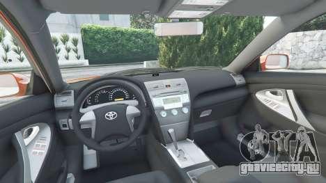 Toyota Camry V40 2008 [add-on] для GTA 5 вид спереди справа