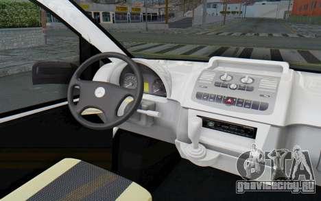 Mercedes-Benz Viano W639 2010 Long Version для GTA San Andreas вид изнутри
