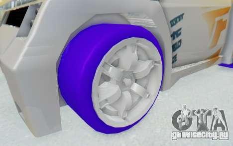 Hot Wheels AcceleRacers 3 для GTA San Andreas вид сзади