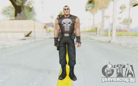 Marvel Future Fight - Punisher для GTA San Andreas второй скриншот