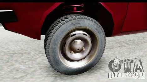 Dacia 1310 TLX v2 для GTA San Andreas вид сзади