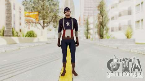 Trevor in Captain America Suit для GTA San Andreas второй скриншот