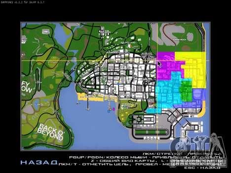 Карта для SAMP для GTA San Andreas