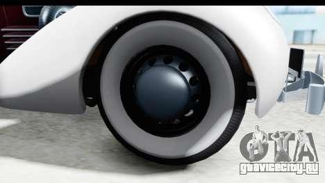 Cord 812 Charged Beverly Low Chrome для GTA San Andreas вид сзади