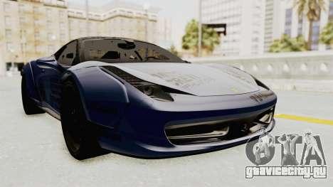 Ferrari 458 VPM Crew для GTA San Andreas