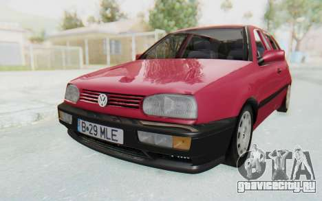 Volkswagen Golf 3 1994 для GTA San Andreas
