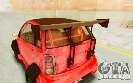 GTA 5 Benefactor Panto Custom для GTA San Andreas вид сзади