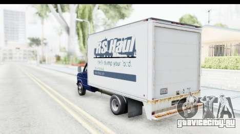 Ford E-350 Cube Truck IVF для GTA San Andreas вид слева
