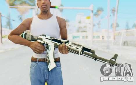 CS:GO - AK-47 Vulcan для GTA San Andreas третий скриншот