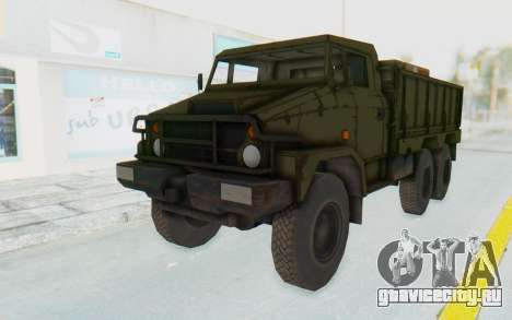 MGSV Phantom Pain BOAR 53CT Truck для GTA San Andreas