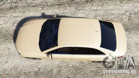 Audi A4 2017 для GTA 5 вид сзади