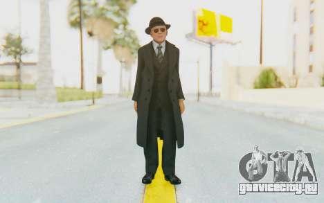 Mafia 2 - Jimmy Vendetta Black Suit для GTA San Andreas второй скриншот