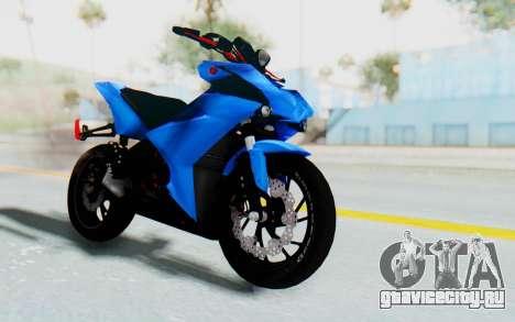 Yamaha Mx King 1000CC для GTA San Andreas вид справа