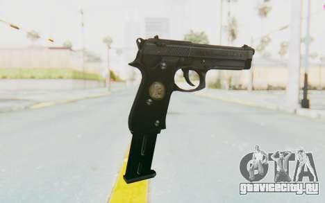 Tariq Iraqi Pistol Back v1 Black Long Ammo для GTA San Andreas второй скриншот