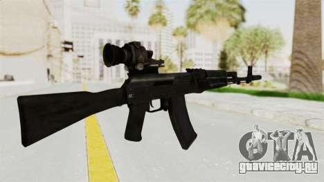 AK-74M v4 для GTA San Andreas второй скриншот